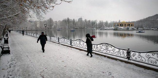 سراب با ۳۰ درجه زیر صفر سردترین شهر کشور