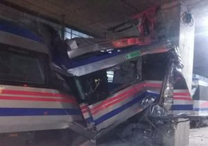 حادثه در قطار شهری تبریز