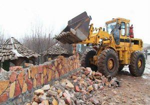 قلعوقمع ۴۰۰ مورد ساختوساز غیرمجاز در اراضی آذربایجانشرقی