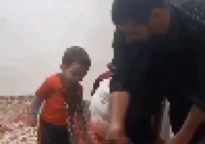 بازداشت پدر کودک آزار در عجب شیر/برای سرگرمی این کار را کردم!