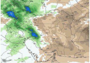 پیش بینی بارش برف و باران در اواخر هفته آذربایجان شرقی