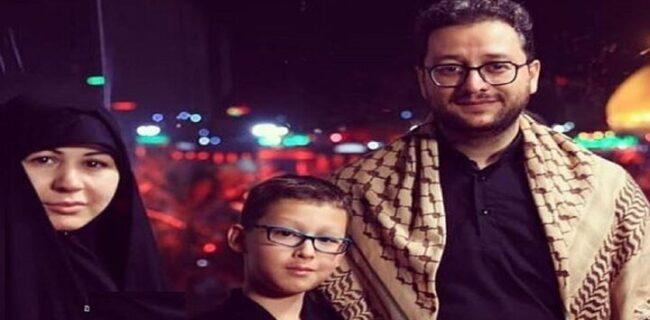 واکنش همسر بشیر حسینی به یک شایعه عجیب